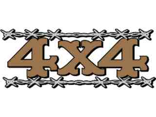 4 X 4_ Barbed_ C L 1 Decal Proportional