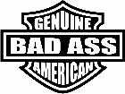 American Badass Decal