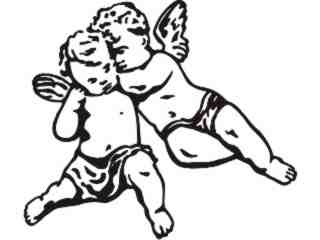 Angel Boys Decal Proportional
