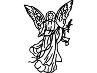 Angel Heaven Decal Proportional