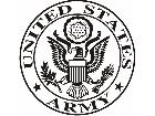 Army United States Decal