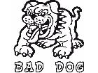 Bad Dog Spike Bulldog Decal