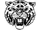 Bob Cat Head Front M B 1 Decal