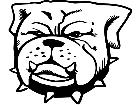 Bulldog Grouch Decal