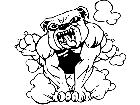 Bulldog Run M B 1 Decal