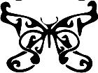Butterfly 0 4 Decal