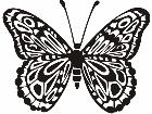 Butterfly 0 8 Decal