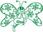 Butterfly Happy Decal