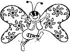 Butterfly 0 4 5 V A 1 Decal
