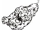 Cats Big Lions Tigers Panthers 0 0 4 Decal