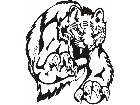 Cats Big Lions Tigers Panthers 0 1 6 Decal