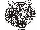 Cats Big Lions Tigers Panthers 0 6 0 Decal