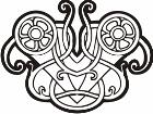 Celtic Ornaments 0 0 1 7w Decal