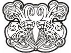 Celtic Ornaments 0 0 2 8w Decal