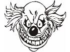 Clown Cool Decal