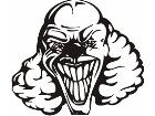 Clowns 0 0 7 X C C Decal