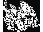 Dice On Fire Decal