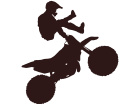 Dirtbike Stuntman 1 Decal