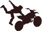 Dirtbike Stuntman 2 Decal