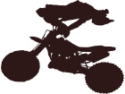 Dirtbike Stuntman 3 Decal