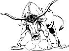 Domestic Animals Bull T G P A 1 Decal