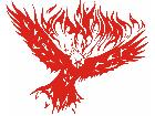 Eagle Body Flaming 1 0 E F 1 Decal
