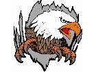 Eagle Claw Hole C L 2 Decal