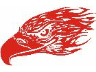 Eagle Flame Head 0 6 E F 1 Decal
