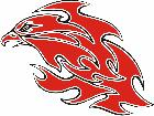 Eagle Flame Multi 1 3 E F 1 C L 1 Decal