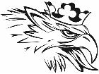 Eagle King Decal