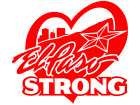 El Paso Strong Heart Decal