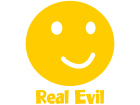 Evil Real Smiley 1 Decal