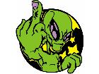Finger Alien G D 1 Decal