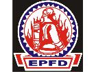 Fire Dept Circle Banner C L 1 Decal