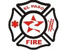 Fire Dept El Paso C L 1 Decal