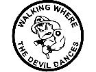 Fire Fighter Devil Dance Decal
