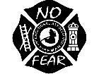 Fire Fighter No Fear Decal