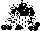 Food Fruit Basket 1 6 3 V A 1 Decal