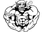 Goblin Muscle Decal