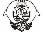 Guam Dolphin Decal