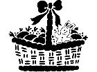 Holidays Easter Basket 1 6 9 V A 1 Decal