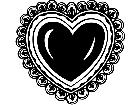 Holidays Valentine Heart 1 6 7 V A 1 Decal