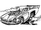 Hotrods 0 6 0 4 7 V A 1 Decal