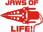 Jaws Of Life Fire Fighter Decal