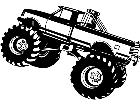 Monster Truck 1 8 8 V A 1 Decal