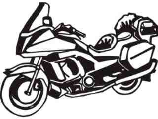 Motorcycle Deluxe_ M M 1 Decal Proportional