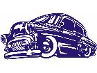 Oldie Bomb Lowrider Decal