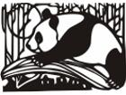 Panda Bears Design 2 Decal