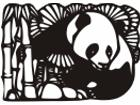 Panda Bears Design 3 Decal