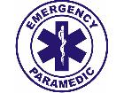 Paramedic Emergency Decal